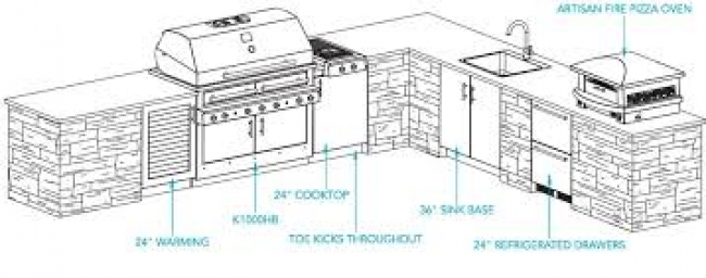 Outdoor Living, Outdoor Kitchens, Custom Grills